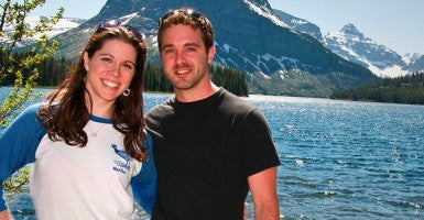 Mary Katharine Ham and Jake Brewer. (Photo courtesy of Mary Katharine Ham)