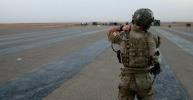 Air Force PJs and CROs have been engaged in nonstop combat operations for more than 14 years. (Photo: Nolan Peterson/The Daily Signal)