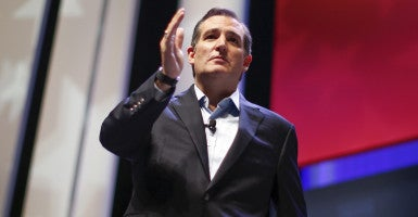 Sen. Ted Cruz, R-Texas, criticized GOP leadership for failing to mount a fight to end taxpayer funding for Planned Parenthood. (Photo: Chris Keane/Reuters/Newscom)