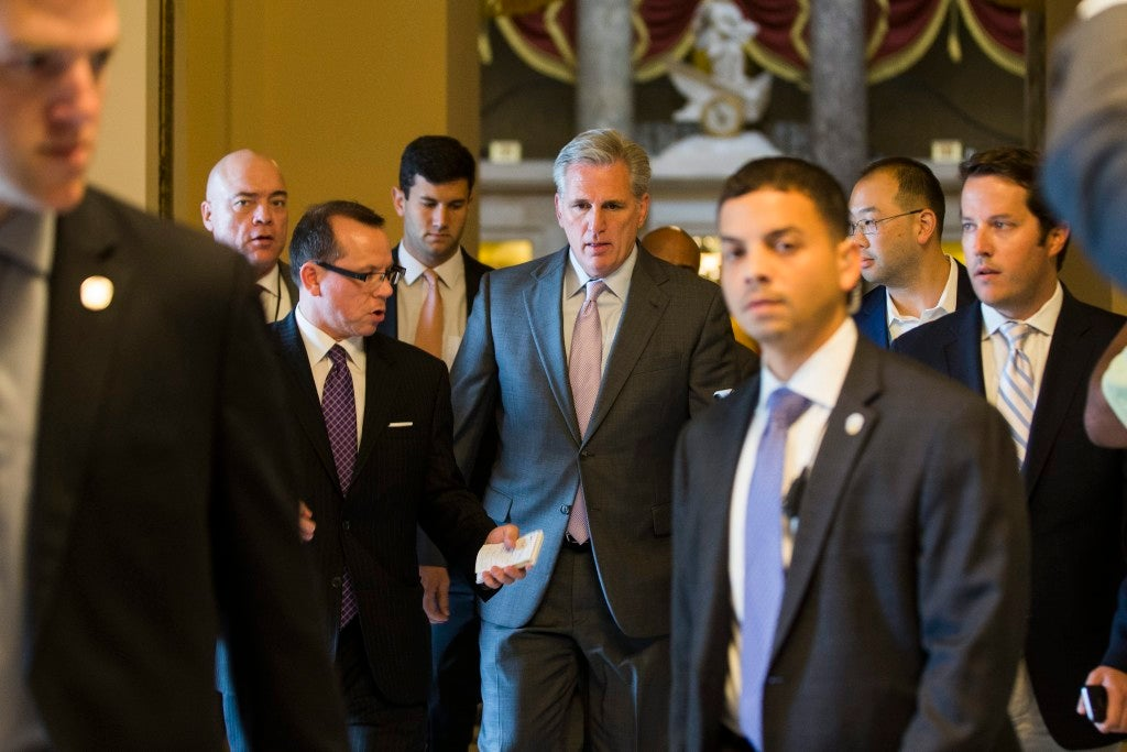 House Majority Leader Kevin McCarthy is expected to run for speaker of the House. (Photo: Jim Lo Scalzo/EPA/Newsom)