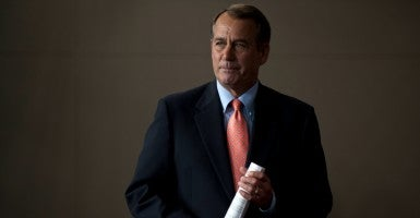 House Speaker John Boehner's announcement that he will be resigning from Congress has started a debate among his fellow Republicans and brought up questions about who will be his successor. (Photo: Pete Marovich/ZUMA Press/Newscom)