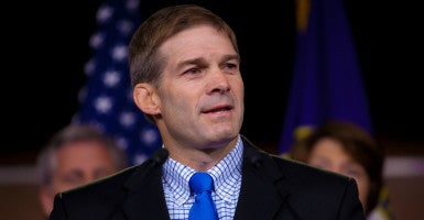House Freedom Caucus Chairman Jim Jordan and eight other members founded the group in January. (Photo: Jeff Malet Photography/Newscom)