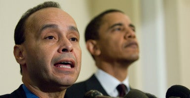Rep. Luis Gutiérrez, D-Ill., introduced legislation last week that would allow illegal immigrants health care coverage under Obamacare. (Photo: Scott J. Ferrell/Congressional Quarterly/Newscom)