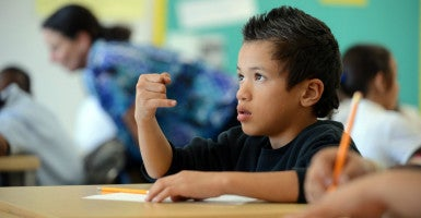 The New York Times has found that Common Core standardized tests are inconsistent because states use different labels to define the same scores. (Photo: Kristopher Skinner/MCT/Newscom)