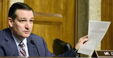 Sen. Ted Cruz, R-Texas. (Photo: Ron Sachs/ZUMA Press/Newscom)