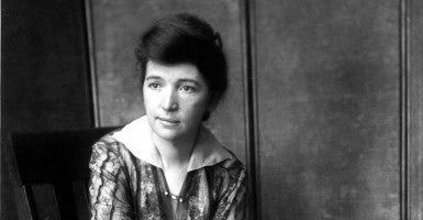 Margaret Sanger, the founder of Planned Parenthood, in 1916. Conservative lawmakers, led by Sen. Ted Cruz and Rep. Louie Gohmert, have asked the National Portrait Gallery to remove a bust of Sanger. (Photo: Everett Collection/Newscom)