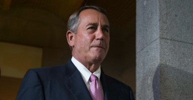 House Speaker John Boehner helped create the D.C. Opportunity Scholarship Program in 2003. The program's reauthorization was passed in the House Wednesday. (Photo: Michael Reynolds/EPA/Newscom)