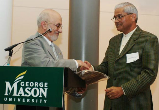 Jagadish Shukla (Photo: George Mason University)