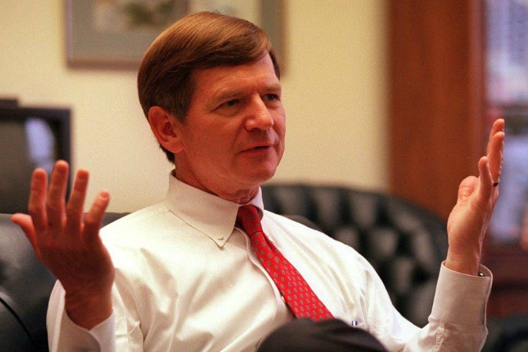 Rep. Lamar Smith, R-Texas, has 'serious concerns' with academics' 'political activities.' (Photo: Chuck Kennedy/KRT/Newscom)