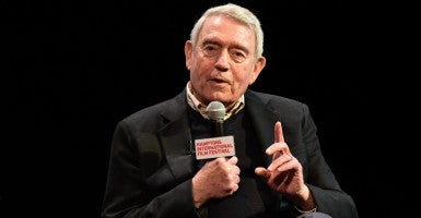 """Dan Rather's role in 2004 """"60 Minutes"""" story about President George W. Bush's Texas Air National Guard service is the subject of the movie """"Truth,"""" featuring Cate Blanchett and Robert Redford. (Photo: Rob Rich/WENN/Newscom)"""