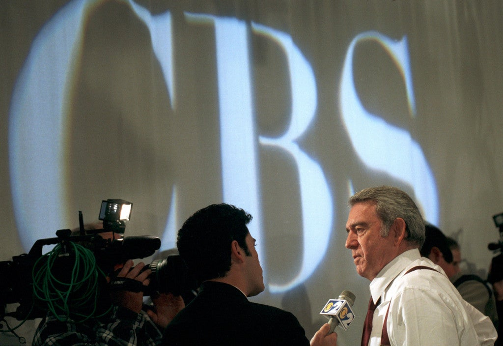 Dan Rather apologized for the role CBS played in promoting an inaccurate report about President George W. Bush's Texas Air National Guard service in September 2004. (Photo: Richard B. Levine/Newscom)