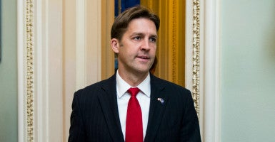 Sen. Ben Sasse, R-Neb., warned of the rapid expansion of the administrative state in his first floor speech. (Photo: Bill Clark/CQ Roll Call/Newscom)