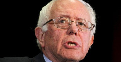 The measure from Sen. Bernie Sanders  would remove marijuana from the federal list of controlled dangerous substances. (Photo: Mary Schwalm/Reuters/Newscom)