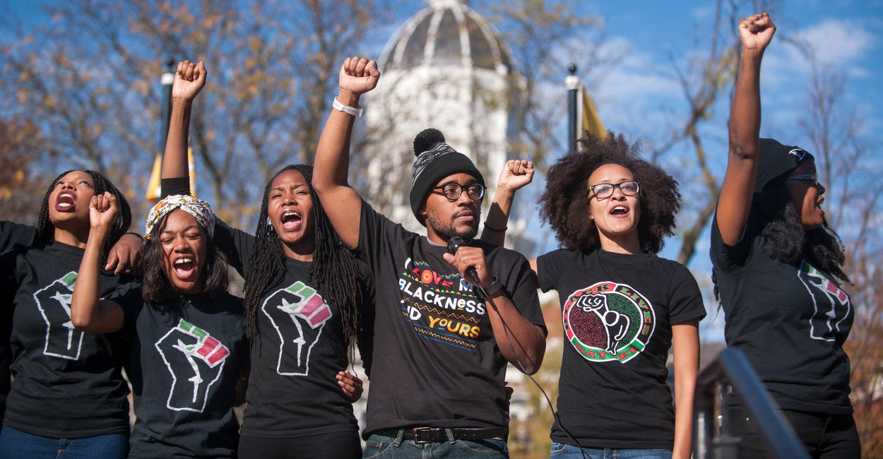 Image result for mizzou protests
