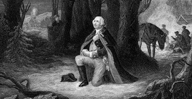 George Washington at Valley Forge. (Photo: iStockPhoto)