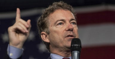 'The Fed operating under a cloak of secrecy has gone on for far too long,' Sen. Rand Paul said in a statement Friday. 'The American people have a right to know exactly how Washington is spending their money. The time to act is now.' (Photo: Brian Frank/Reuters/Newscom)