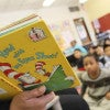 Second graders at the Confluence Charter School in St. Louis listen to a story. (Photo: Bill Greenblatt/UPI/Newscom)