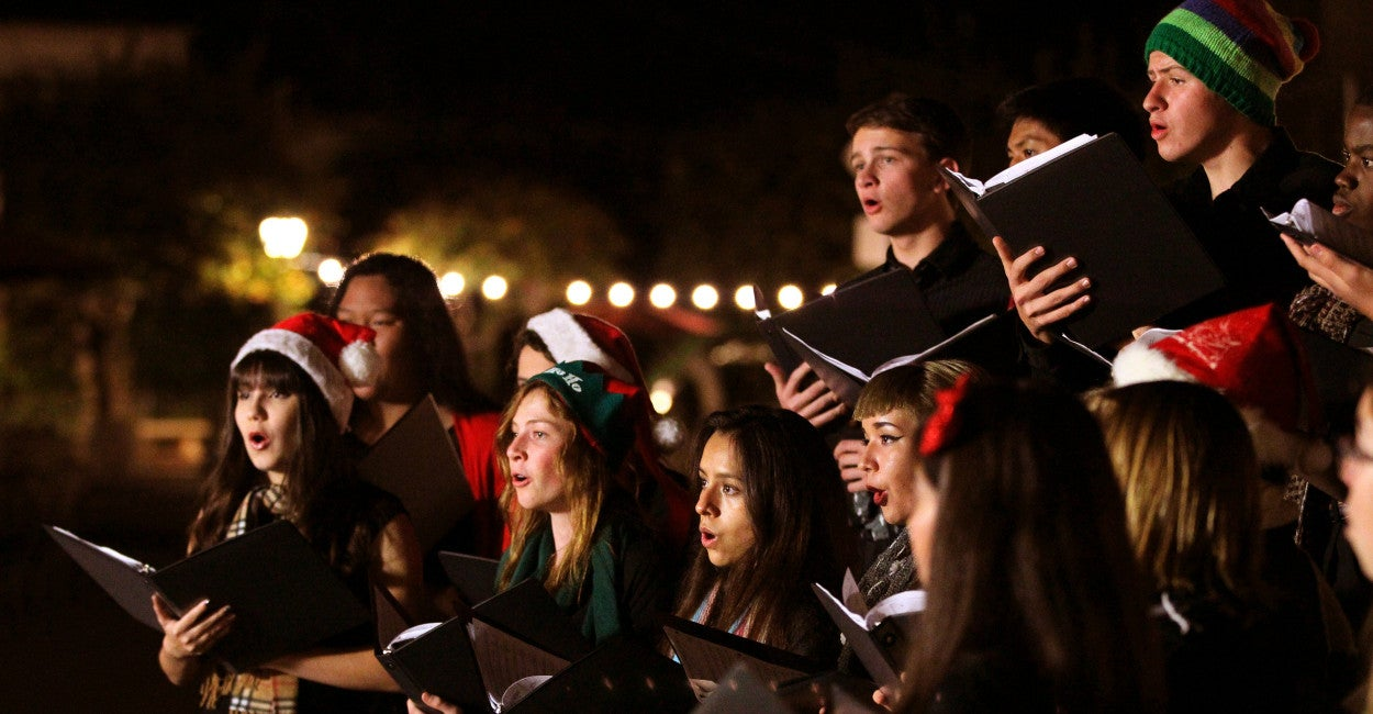 Christmas caroling ideas