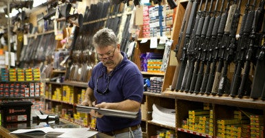 Six states—Florida, Louisiana, North Dakota, Pennsylvania, South Carolina and Wyoming—also will stop recognizing  concealed carry permits from Virginia. (Photo: Evelyn Hockstein/Polaris/Newscom)