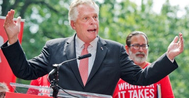 The Washington Post flip-flopped on a Medicaid gimmick that Gov. Terry McAuliffe is trying to push in Virginia. (Photo: Tom Williams/CQ Roll Call/Newscom)