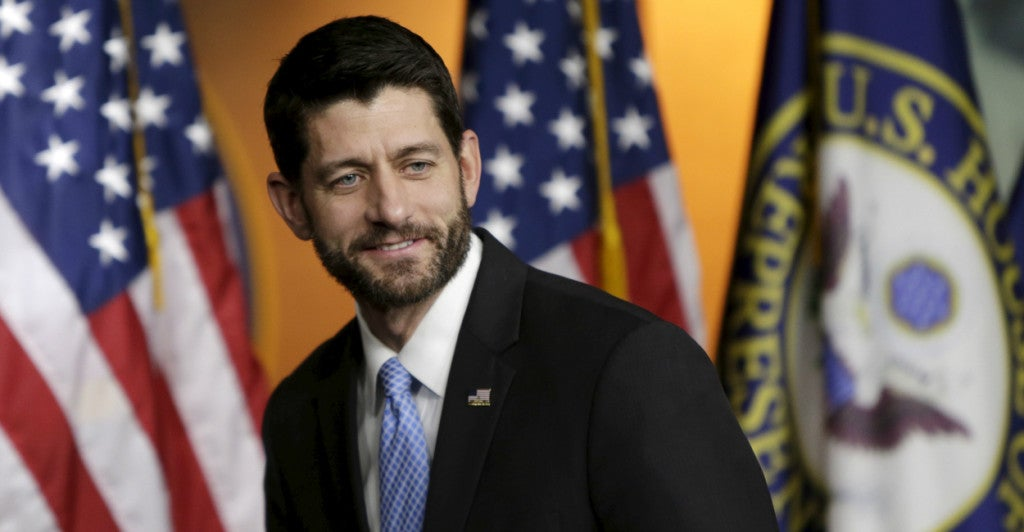 'We're forcing the president to confront the failures of this law [Obamacare] once and for all,' a statement from House Speaker Paul Ryan's office said. (Photo: Gary Cameron /Reuters/Newscom)