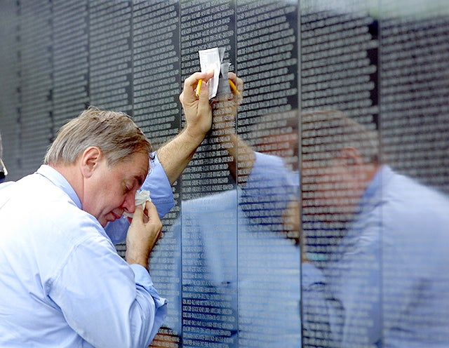 Boynton Beach Residents Visit The Vietnam Wall Experience