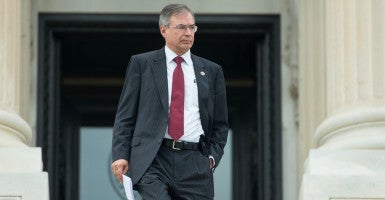 Instead of pushing new gun controls, Rep. Andy Harris, R-Md., said the president should work with Congress to fix a 'broken' mental health system. (Photo: Bill Clark/CQ Roll Call/Newscom)