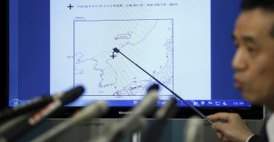 Sensors detected a 5.1-magnitude seismic event at the same approximate location of North Korea's 2013 nuclear test. (Photo: Issei Kato/Reuters/Newscom)