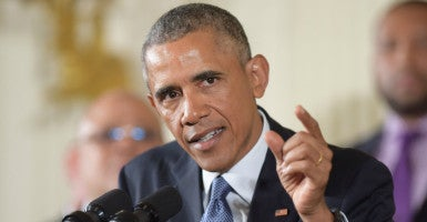 President Barack Obama unveiled a handful of executive measures on gun control Tuesday. (Photo: Chine Nouvelle/SIPA/Newscom)