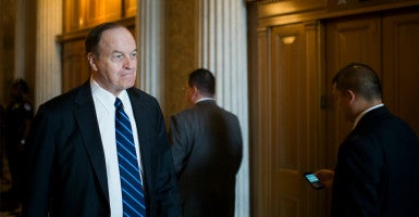 Sen. Richard Shelby, R-Ala., chairman of the Senate Banking Committee, said he is in no hurry to move on a nomination to the Export-Import Bank's Board of Directors. The board needs a quorum to approve financing of more than $10 million. (Photo: Bill Clark/CQ Roll Call/Newscom)