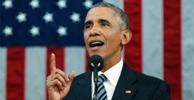 President Obama delivered his final State of the Union to a joint session of Congress. (Photo: Pool/Reuters/Newscom)