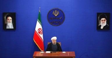 Iranian supreme leader Ayatollah Ali Khamenei. (Photo: Abedin Taherkenareh/EPA/Newscom)