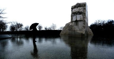 The Martin Luther KIng Jr. Memorial in Washington D.C. (Photo: Jonathan ERNST/Reuters/Newscom)