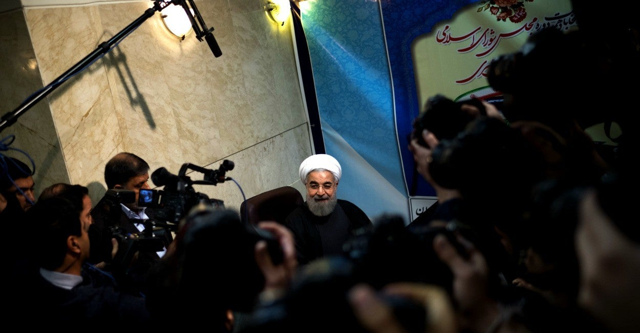 Irán, Hassan Rouhani