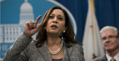 "Perhaps we should investigate what California Attorney General Kamala Harris ""knows"" about global warming or climate change, which Harris treats as if it is a proven, unassailable, incontrovertible fact.  (Photo: Hector Amezcua/ZUMA Press/Newscom)"