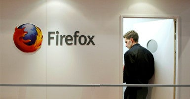 Hans von Spakovsky, a former FEC commissioner, cited the events surrounding former Mozilla CEO Brendan Eich as a reason why it's risky for nonprofits to disclose the names and addresses of their donors to the state. (Photo: Albert Gea/Reuters/Newscom)
