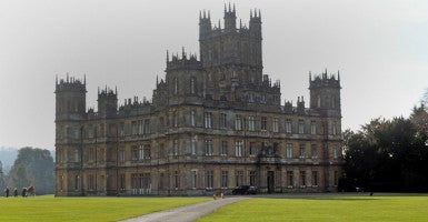"""Downton Abbey"" is filmed at Highclere Castle. (Photo: Steve Parsons/ZUMA Press/Newscom)"