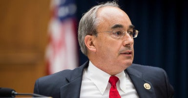 """This bill makes a very important clarification in the law, closing a loophole,""  Rep. Bruce Poliquin, R-Maine, said in a statement. (Photo: Bill Clark/CQ Roll Call/Newscom)"