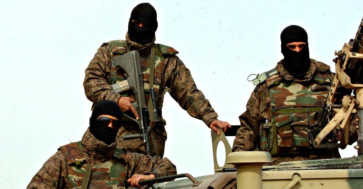 Fuerzas especiales, Túnez