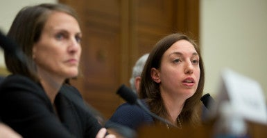 """The debt limit is a key action-forcing tool that drives attention toward our nation's precarious fiscal state,"" Heritage Foundation budget expert Romina Boccia testified. (Photo: Willis Bretz/The Heritage Foundation)"