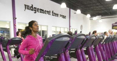 "So far, Planet Fitness has prevailed with its policy allowing transgender persons to use women's locker rooms. ""A woman should not have to wait until she is viewed naked by a man ... to secure legal protection,"" Yvette Cormier's lawyers argue. (Photo: Bernard Weil/Zuma Press/Newscom)"