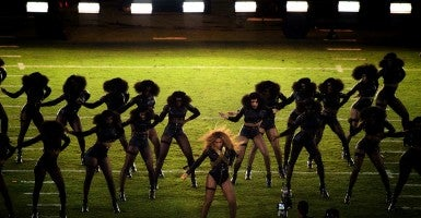 Beyonce performs during the halftime show at Super Bowl 50 on Sunday, Feb. 7. (Photo: Randy Pench/ZUMA Press/Newscom)