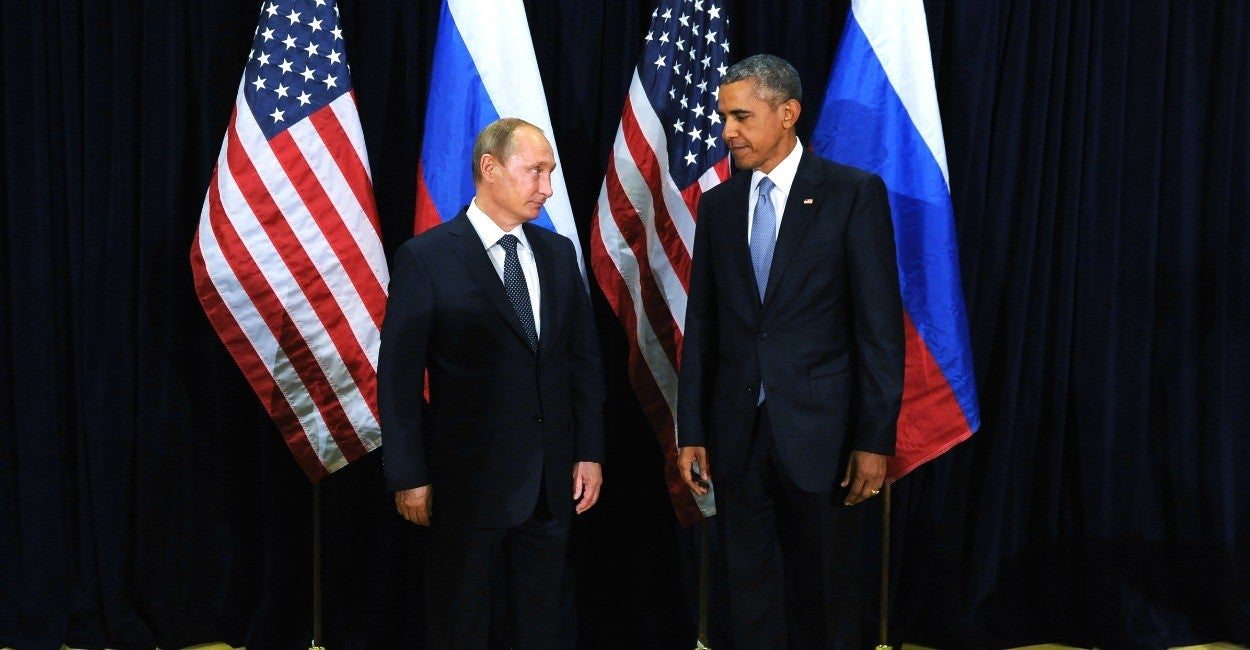 Vladimir Putin y Obama