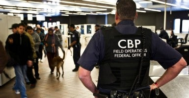 This new policy requires U.S. border patrol agents to release an illegal immigrant from custody as long as he or she has not been convicted of a felony crime and claims to have continually resided in the United States prior to January 2014. (Photo: Josh Denmark/ZUMA Press/Newscom)