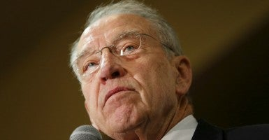 Judiciary Chairman Chuck Grassley, R-Iowa, and 10 fellow Republicans on  the committee say they won't consider an Obama nominee to the Supreme Court. (Photo: Bill Clark/CQ Roll Call/Newscom)