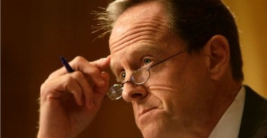 Sen. Pat Toomey, R-Pa., wants to keep the nomination pipeline through the Senate Judiciary Committee open just a bit longer. He's got two Pennsylvania nominees he wants to get confirmed. (Photo: Gary Cameron/Reuters/Newscom)