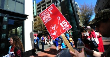 Economists examining the 2007-2009 federal minimum wage hike found affected workers' weekly earnings dropped by an average of $150 month. (Photo: Alex Milan Tracy/Sipa USA/Newscom)