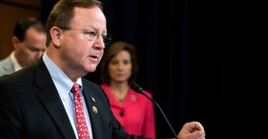 Rep. Bill Flores, R-Texas, speaks during the Republican Study Committee news conference. (Photo: Bill Clark/CQ Roll Call/Newscom)