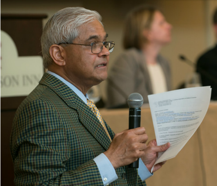 An environmental institute run by Jagadish Shukla is the beneficiary of more than $60 million in taxpayer funds. (Photo: Evan Cantwell/George Mason University)