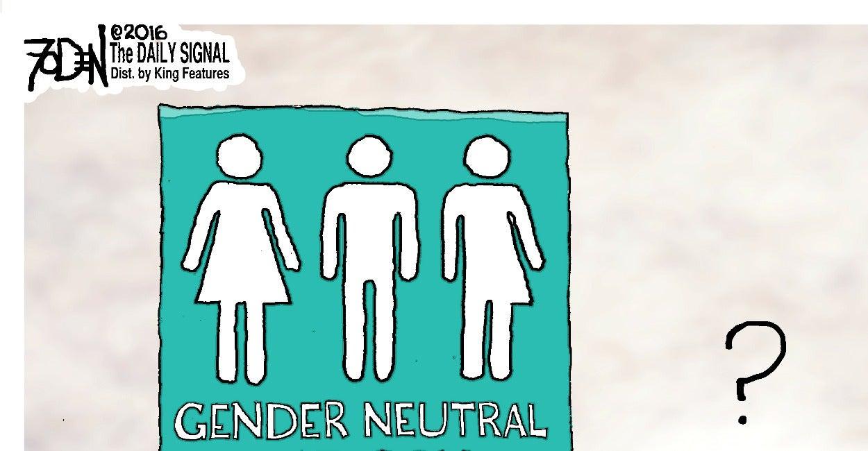 Cartoon: Gender-Neutral Restrooms